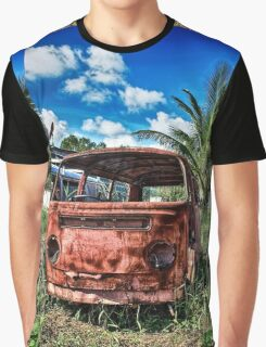 Rusty VW Van Graphic T-Shirt