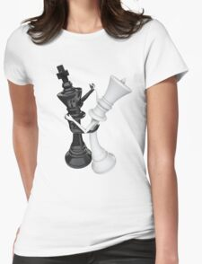 Chess dancers Womens Fitted T-Shirt