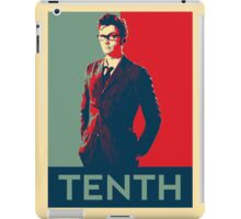 Tenth doctor - Fairey's style iPad Case/Skin