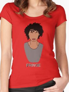 Astrid - Fringe Women's Fitted Scoop T-Shirt
