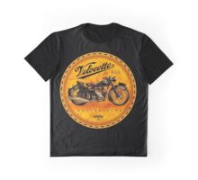 Velocette Vintage Motorcycles England Graphic T-Shirt