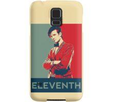 Eleventh doctor - Fairey's style Samsung Galaxy Case/Skin