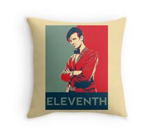 Eleventh doctor - Fairey's style Throw Pillow
