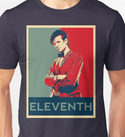 Eleventh doctor - Fairey's style Unisex T-Shirt