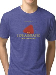 The Life Aquatic with Steve Zissou Beanie Poster Tri-blend T-Shirt