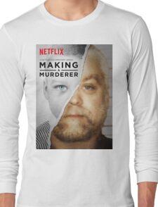 Making a Murderer Steven Avery Movie Long Sleeve T-Shirt