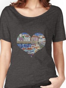 Pittenweem Harbour Women's Relaxed Fit T-Shirt