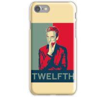 Twelfth doctor - Fairey's style iPhone Case/Skin