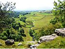 View From The Top Of Malham Cove #1 by Graham Geldard