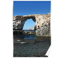 Famous Gozo Arch Poster