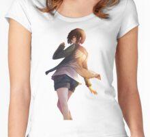 kirishima touka tokyo ghoul Women's Fitted Scoop T-Shirt