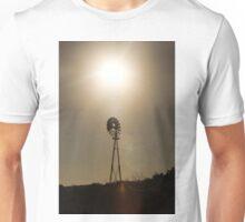 Sunbeams on the windmill Unisex T-Shirt