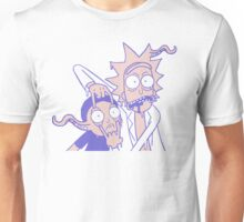 Rick And Morty Slime Alien Purple And Peach Unisex T-Shirt