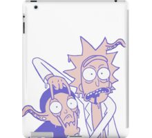 Rick And Morty Slime Alien Purple And Peach iPad Case/Skin