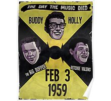 The Day the Music Died Poster