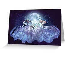 Princesses of the Moon Greeting Card