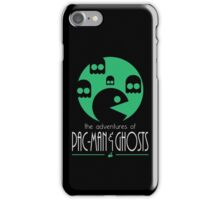 The adventures of Pac-Man and Ghosts iPhone Case/Skin