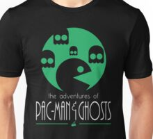 The adventures of Pac-Man and Ghosts Unisex T-Shirt