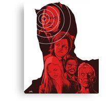 Daredevil Montage Canvas Print