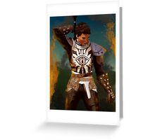 Cassandra Pentaghast - Dragon Age Greeting Card