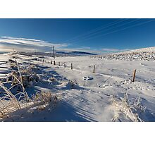Cold Morning in Norther Utah Photographic Print