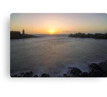 Portpatrick Harbour Sunset Canvas Print