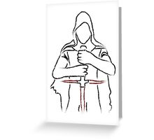 Kylo Ren Greeting Card