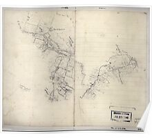 Civil War Maps 2195 Preliminary sketch of a portion of the Belle Grove or Cedar Creek battlefield area Poster