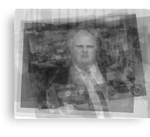 Rob Ford Portrait Canvas Print