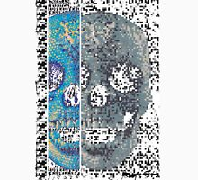 pixilated skull 011 by #RootCat Unisex T-Shirt