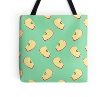 Apple cut Tote Bag