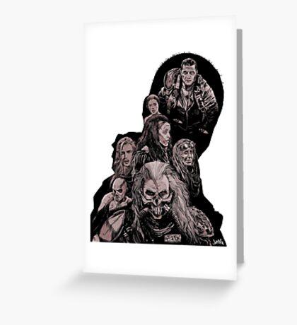 Mad Max Fury Road Greeting Card