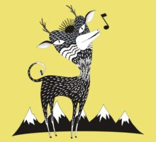 Singing Deer of the Shaggy Mountains Kids Clothes