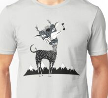Singing Deer of the Shaggy Mountains Unisex T-Shirt