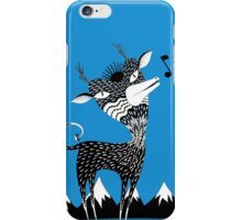 Singing Deer of the Shaggy Mountains iPhone Case/Skin
