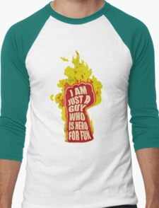 Hero for fun Men's Baseball ¾ T-Shirt