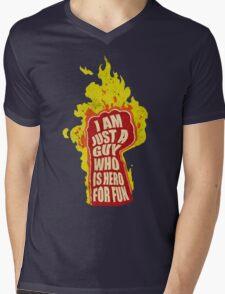 Hero for fun Mens V-Neck T-Shirt