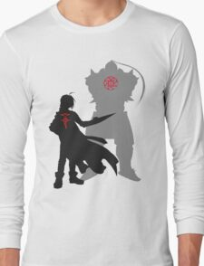 Edward and Alphonse Elric Full Metal Alchemist Long Sleeve T-Shirt