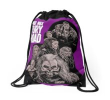 Mad Max Fury Road with Logo Drawstring Bag