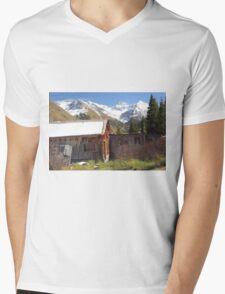 Animas Forks Mens V-Neck T-Shirt