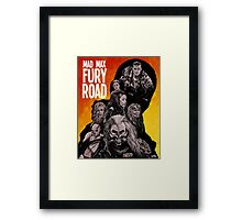 Mad Max Fury Road Fiery Edition Framed Print