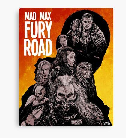 Mad Max Fury Road Fiery Edition Canvas Print