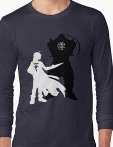 Edward and Alphonse Elric FullMetal Alchemist Long Sleeve T-Shirt