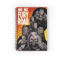 Mad Max Fury Road Fiery Edition Spiral Notebook