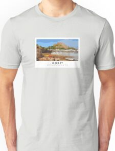 Gorey (Railway Poster) Unisex T-Shirt