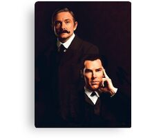 Mr Holmes and Dr Watson Canvas Print