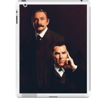 Mr Holmes and Dr Watson iPad Case/Skin
