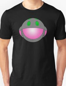Heavy Metal Spaceship / Starship black outline, colour fill Unisex T-Shirt