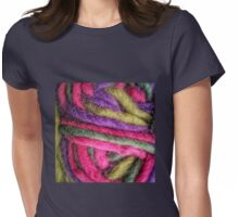 Knit Texture 02 Womens Fitted T-Shirt
