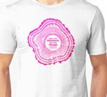 My List – Pink Ombré Ink Unisex T-Shirt